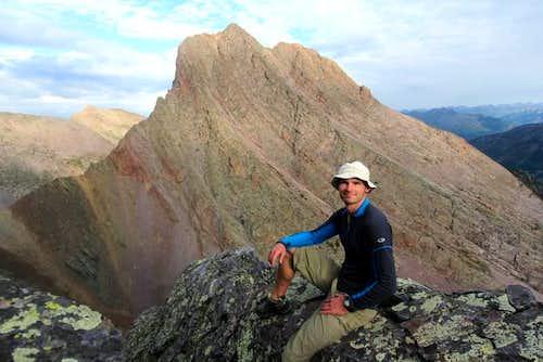Arrow Peak from Wham Ridge