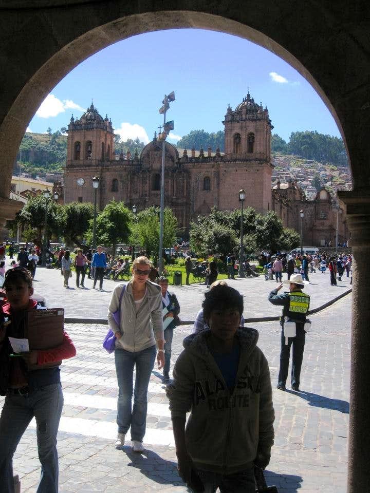 The center of Cuzco