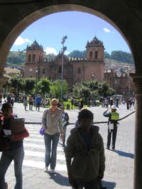 The center of Cuzco