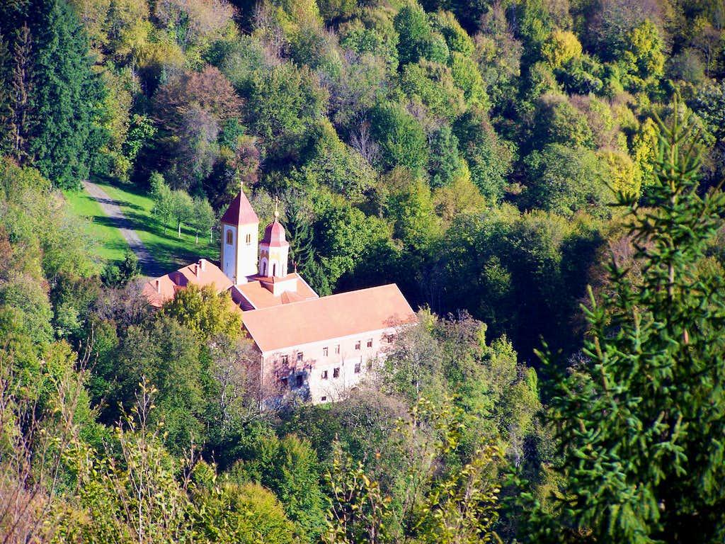 The ortodox monastery near Orahovica/Raholca