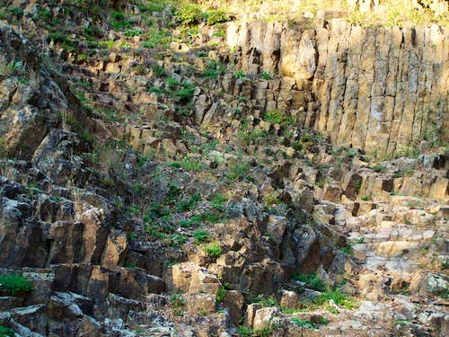 Basalt rocks at Rupnica
