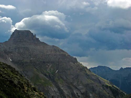 Storm Building over Potosi Peak