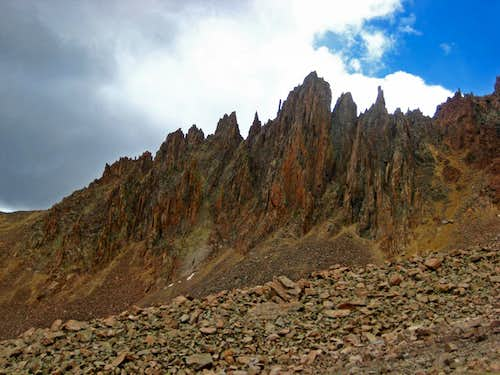 The Spires of the Southwest Ridge