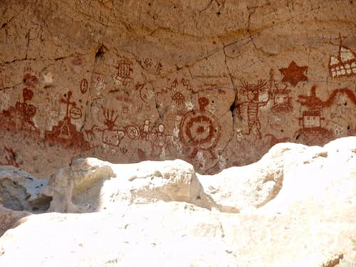 Painted Cave detail