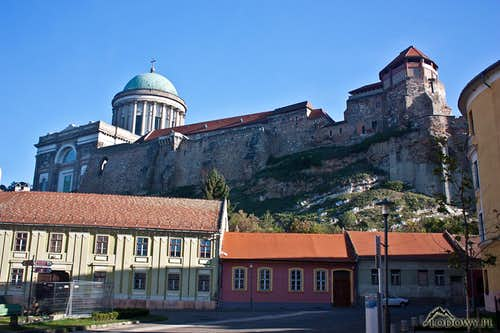 Esztergom castle hill