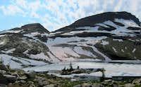 Vulture Peak and Gyrfalcon Lake