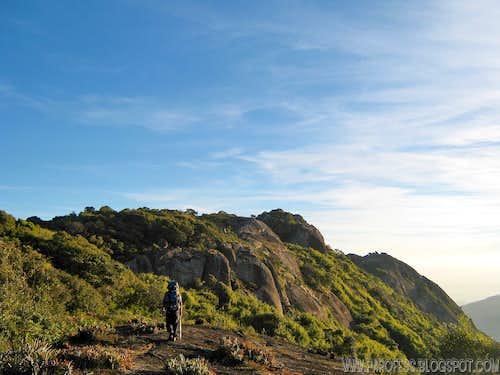 Me, close to Selado Peak summit