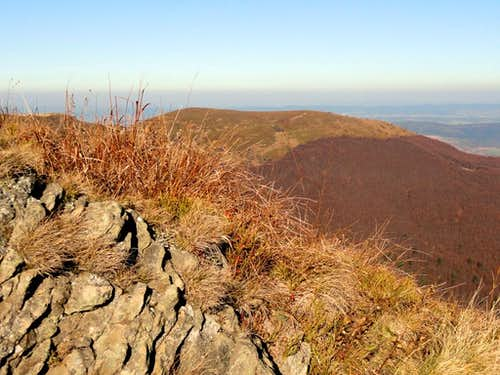 Top of Mount Rozsypaniec