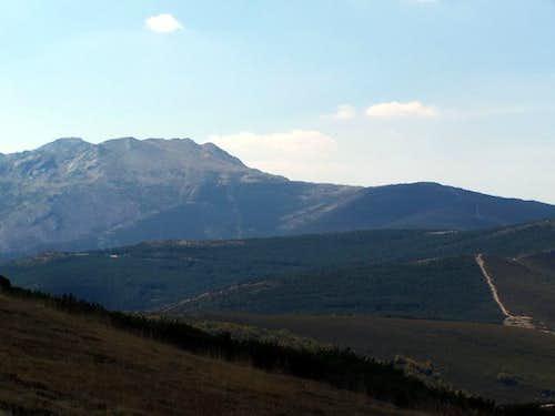 From L to R: Pico del lobo...