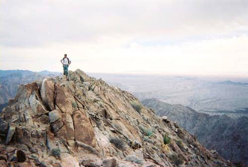 The summit of Sheep Mountain.