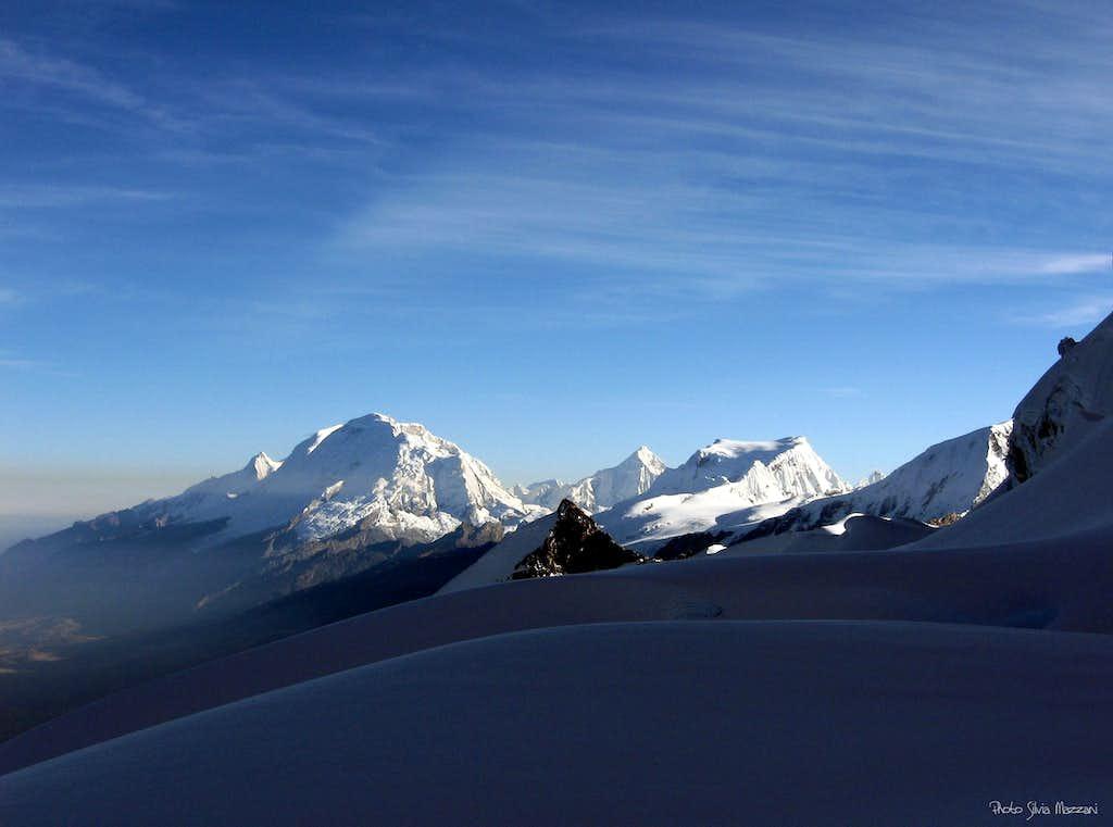 View over Central Cordillera Blanca