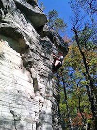Pilot Mountain, NC Three Bears Gulley