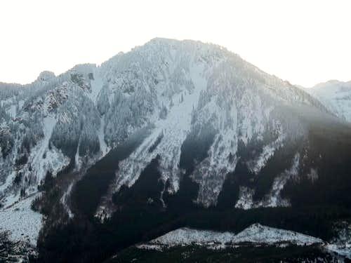 Persis west ridge