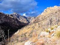 Looking up Esperero canyon on...