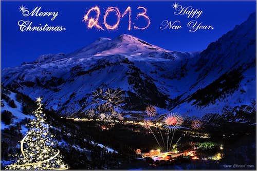 Christmas time in Elbrus region!