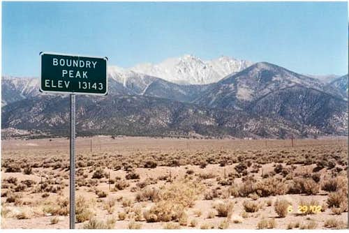 NV - Boundary Peak
