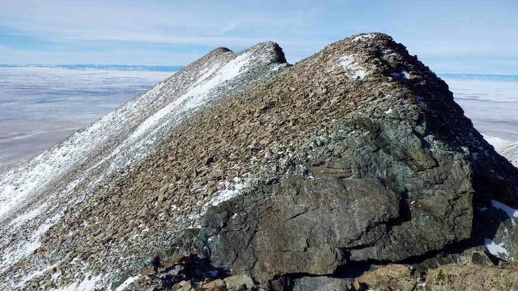 Little Bear SW ridge
