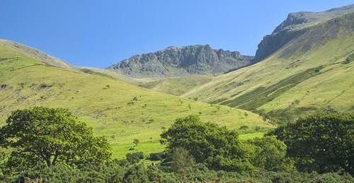 Scafell Pike viewed from...
