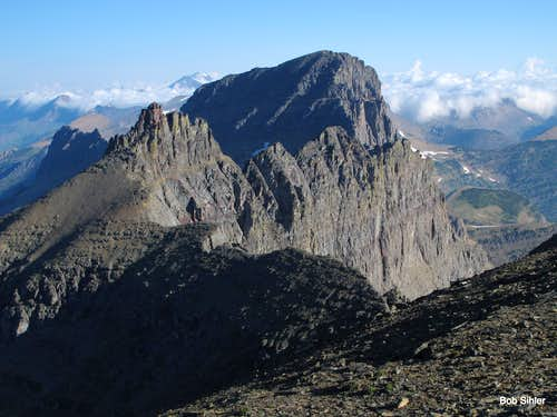 Bishops Cap and Mount Gould