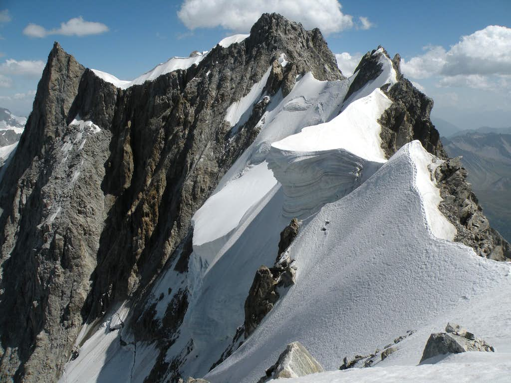 Arete Rochefort : Photos, Diagrams & Topos : SummitPost