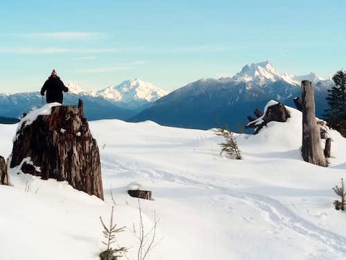 Glacier and Whitehorse