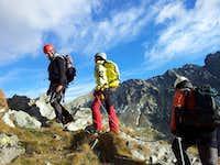 ascending Gerlach peak