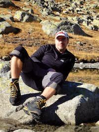 relax at Satan´s tarn - High Tatras