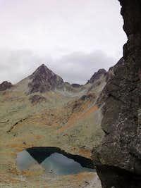 Vysoka from Lucne sedlo - High Tatras