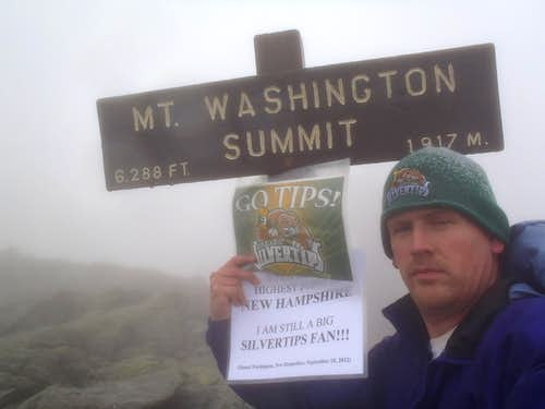 Mount Washington Summit Shot