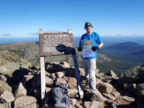 Katahdin Summit Shot
