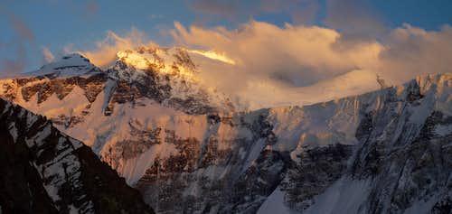 Ismail Somoni Peak - 7495 m