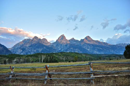 Sunrise on The Grand Teton