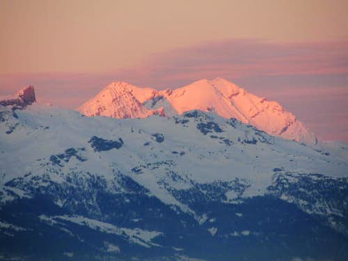 A Balmhorn sunset