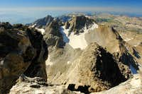 Middle Teton, summit view south