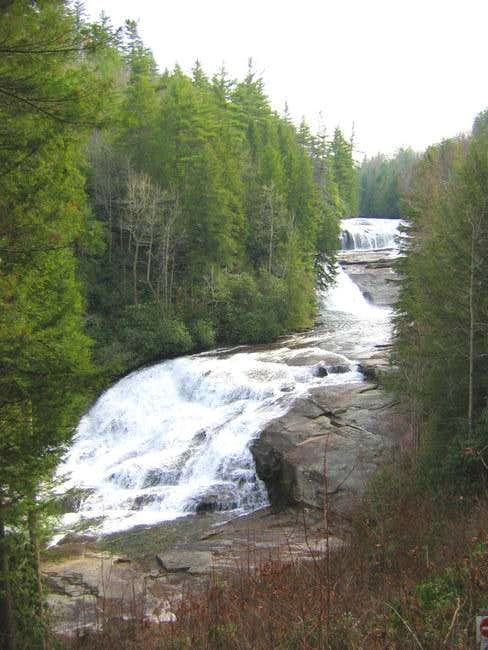 Triple Falls, on the Little...