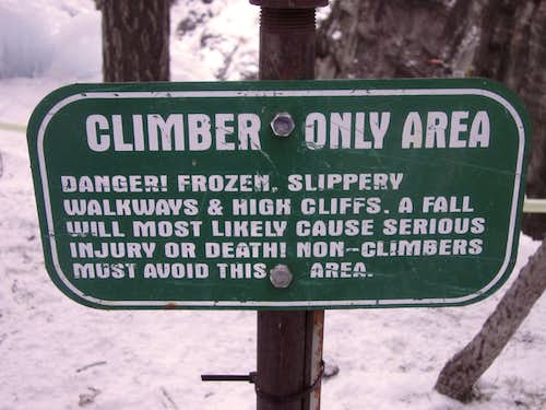 Climbers Only