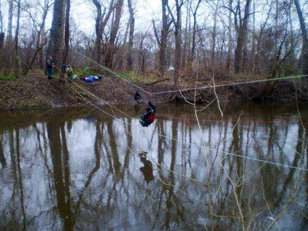 Crossing The Delaware River