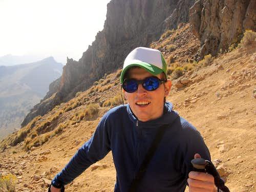 Climbing Izta