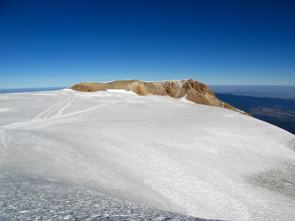 View of summit of Izta