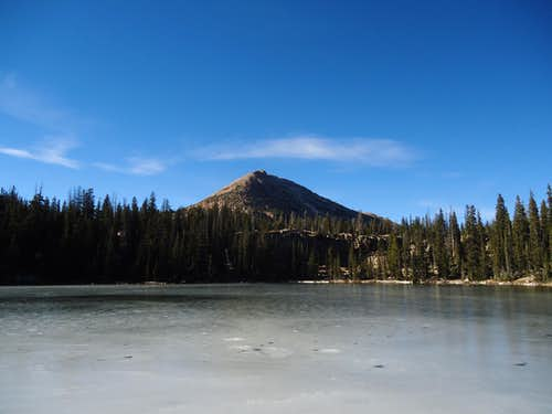 Mt. Watson Over Cliff Lake