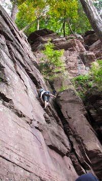 High Rocks Practice Wall