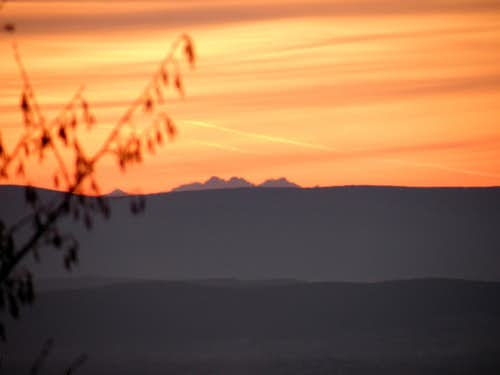 Tatras on the horizon
