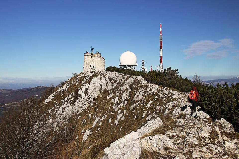 Ucka summit