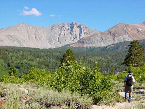 Wheeler Peak (center) from...