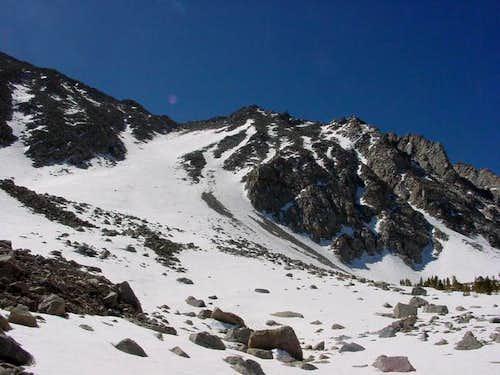 At the base of Wheeler Peak's...