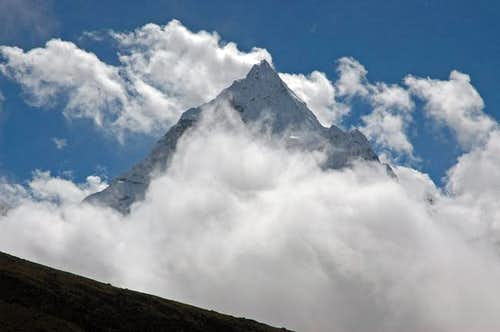 Ama Dablam from above...