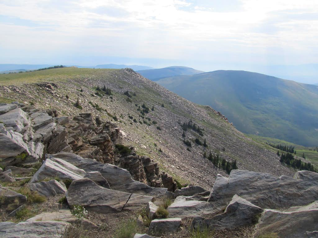 East from Summit