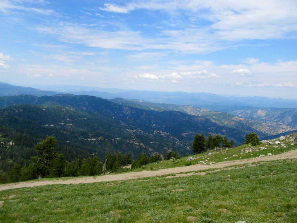NE from near summit