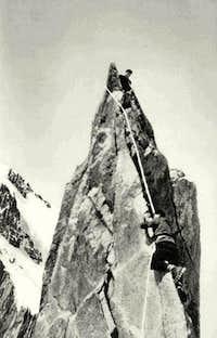 Climbing the Carmen Needle