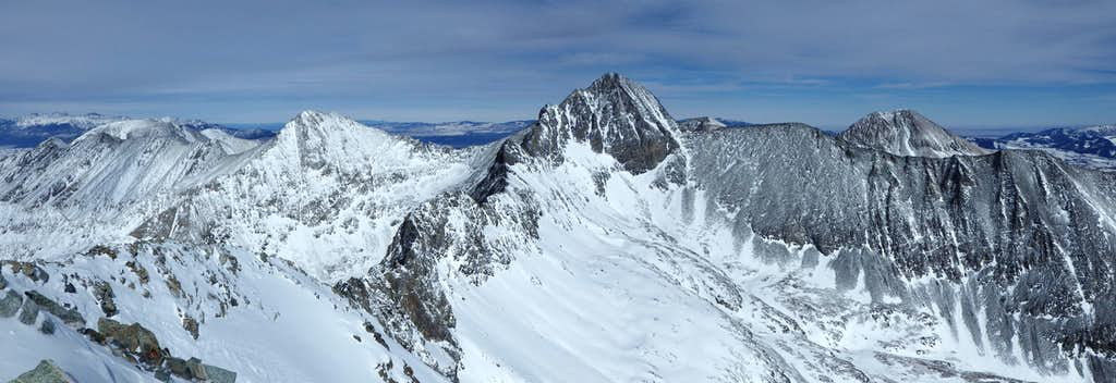 Little Bear Peak summit panorama
